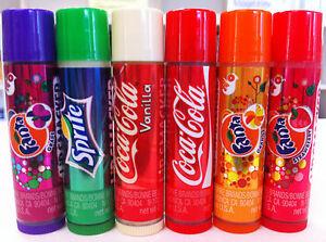 LIP-SMACKER-Lip-Balm-Gloss-Soda-Coca-Cola-Fanta-Sprite-x-1-Free-Airmail