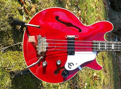 Used, Zero-Mod JCLP Thumb Rest for Jack Casady & Les Paul Signature Bass NO New Holes! for sale  Ringwood
