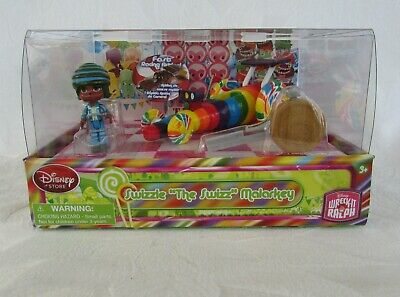Disney Store Wreck it Ralph Sugar Rush Car Racer Swizzle The Swizz Malarkey NIB!