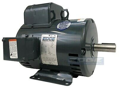 Heavy Duty Leeson Motor For Compressor 5hp 1725rpm 184t 230v 1-phase