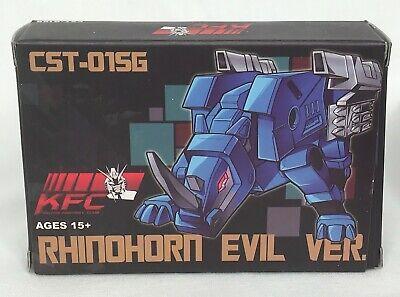 Transformers KFC CST-01SG Evil Energy Rhinohorn clear figure Keiths Fantasy Club