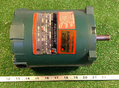 1 Used Reliance P56h3003m-sm 14 Hp Duty Master A-c Motor Make Offer