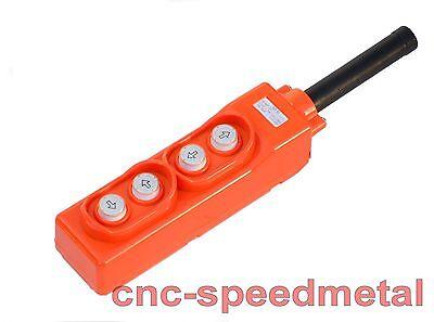 Fernbedienung 4 Knöpfe kabelgebunden Seilzug Seilwinde Remote Control Winch