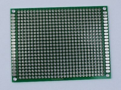 12410 Pcs Double Sided Universal Pcb Proto Prototype Perf Board 68 6x8 Cm
