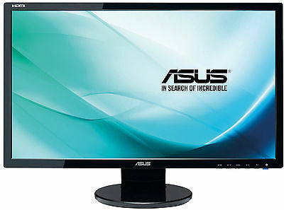 "ASUS VE248HR 24"" Wide Full HD LED Computer Monitor 1ms 1920x1080 HDMI DVI SPEAKE"