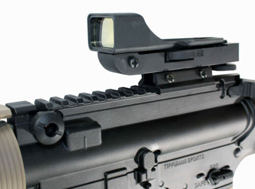 aluminum black reflex sight for tippmann tmc paintball marker accessories.