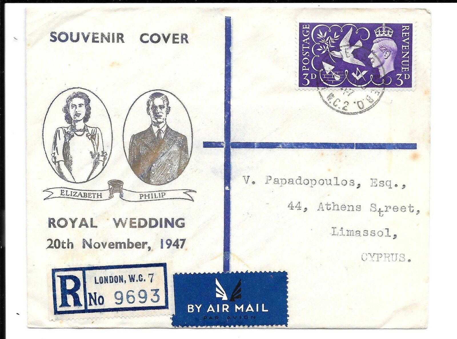 GB ROYAL WEDDING COVER 20.11.47