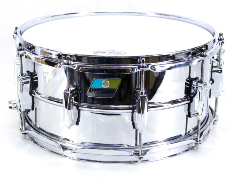 """Ludwig Supraphonic 14 x 6.5 """" Snare Drum Silver/Chrome"""