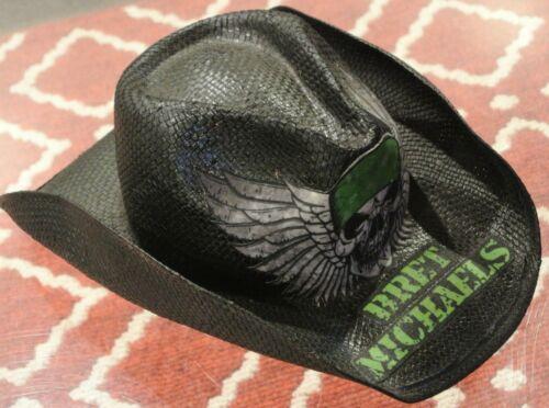 Bret Michaels of Poison Autographed Black Cowboy Hat