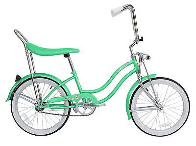 "Micargi 20"" Lowrider Beach Cruiser Bicycle Bike Low Rider Girls frame Mint Green for sale  Shipping to Canada"