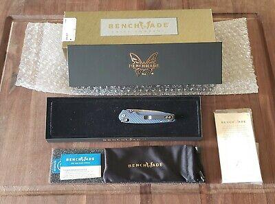 Benchmade Knives: 485-171 Valet, Gold Class, Damascus Blade folding knife