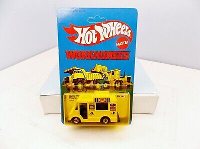 Hot Wheels 1979 Good Humor Truck - Workhorses - Collector's Quality