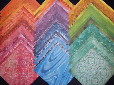 12x12 Scrapbook Paper Studio Eclectic Textures Rainbow Colors Wholesale 60 Lot
