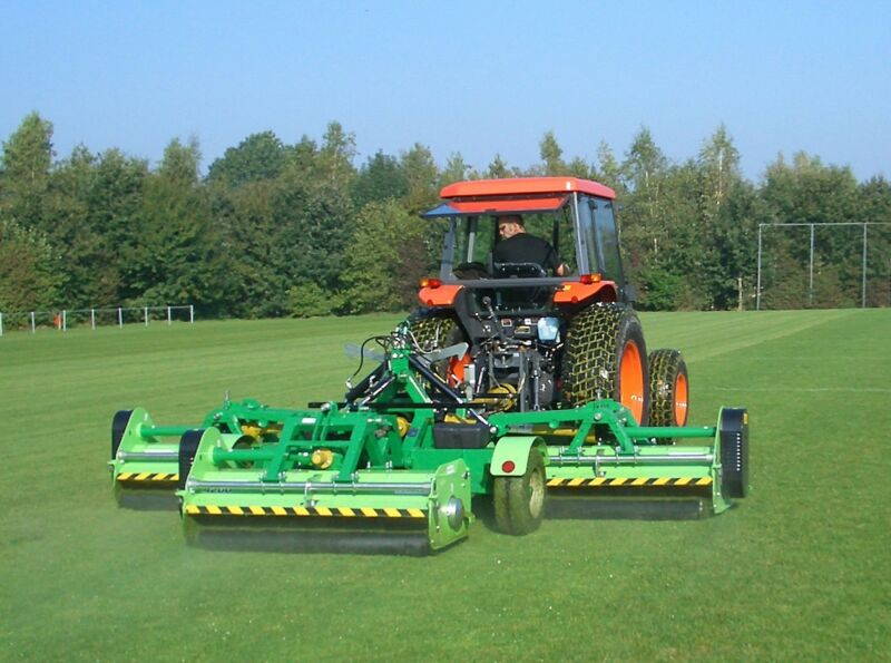 Peruzzo TriFlex Grooming Flail Mower: Excellent 1-Pass Carpet Like Finish Cut!