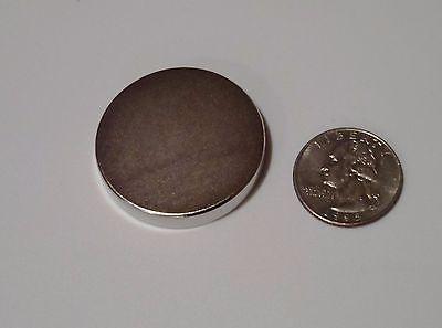 Brand New Neodymium Rare Earth Magnets N52 Grade Large 1.5 X 14 Disc-powerful
