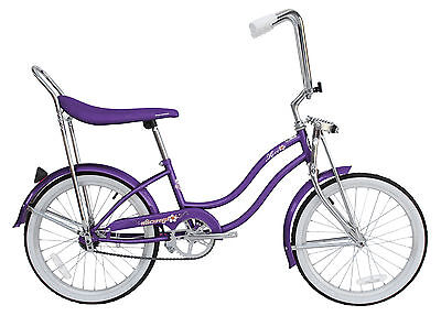 "Used, New 20"" Lowrider Beach Cruiser Bicycle Bike Low Rider Hero Purple for sale  Shipping to Canada"