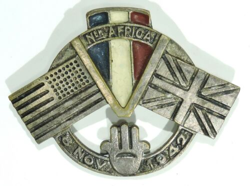 US / Great Britain Invasion of North Africa Operation Torch Pin