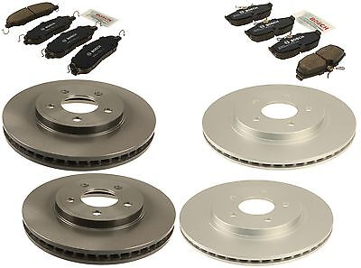 Ford Mustang Base 4.0 V6 05-09 Brembo/Bosch Front & Rear Brake KIT Discs & Pads