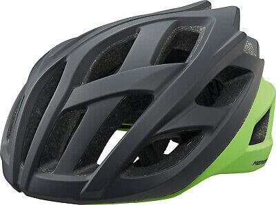 Merida Casco de Bicicleta Road Race Tamaño 54-58cm Negro/Verde Nuevo Emb. Orig.