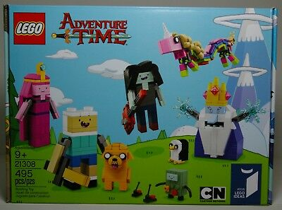 LEGO IDEAS 21308 ADVENTURE TIME CARTOON NETWORK 2017 MIP