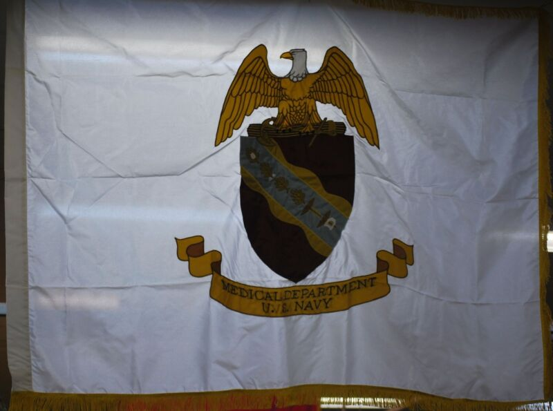 US Navy Medical Department Flag - GI Issue