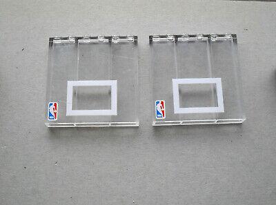 LEGO  : 2 briques transparantes de 1 x 6 x 5