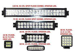 LED LIGHT LIGHTS BAR SPOT FLOOD WORK SPOTTIES CREE OFF ROAD 4X4 Beldon Joondalup Area Preview