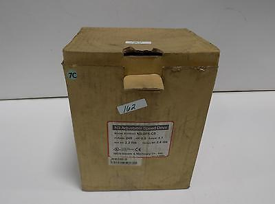 Teco N3 Adjustable Speed Vfd Drive Control N3-2p5-cs Nib Pzb