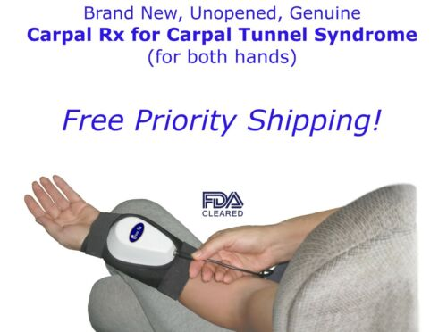 Carpal Rx - 100% Cure for Carpal Tunnel in BOTH HANDS - Brand New