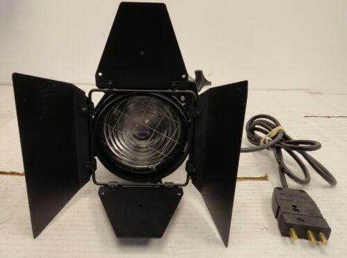 DeSisti Magis Model 300 Fresnel Stage/Studio Light, Barndoors & Bulb  (3D4.31.JK