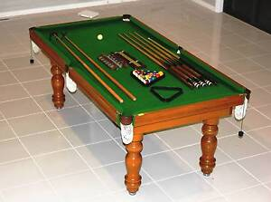 Pool / Billiards Table w/ Balls & Accessories South Morang Whittlesea Area Preview
