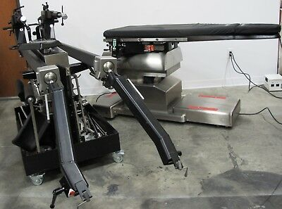 Mizuho Osi 6850 Profx Radiolucent Orthopedic Table With Accessory Cart