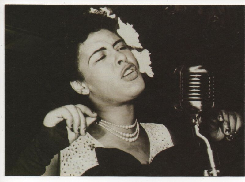 BILLIE HOLIDAY. A3 repro  POSTER. Jazz.