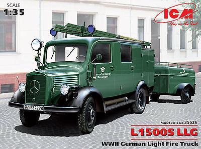 ICM 35526 Mercedes L1500S LLG Feuerschutzpolizei in 1:35
