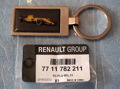 Porte clés RENAULT SPORT FORMULA ONE TEAM F1 réf.7711782211 neuf