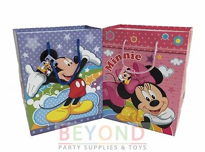 e Goody Bags, Party Favor Goodie Bags Gift Bags Birthday (Mickey Goodie Bags)
