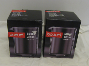 NEW-2 Bodum Spare Glass Carafe for French Press  CoffeeMaker