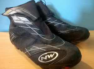North Wave Celcius GTX Cycling Shoes Goretex SPD Cleats Size 43