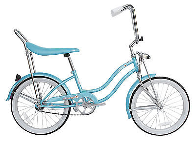 "New 20"" Lowrider Beach Cruiser Bicycle Bike Low Rider Hero Baby Blue for sale  Shipping to Canada"