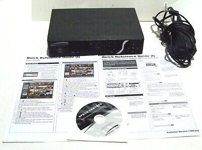 Speco Technologies D8cs2tb 8-channel Embedded Dvr2tb Hddquick Reference Guides