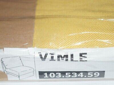 IKEA Bezug für 1er Sitzelement - VIMLE ORRSTA goldgelb Sofabezug Sitzer 10353459
