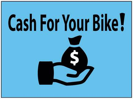 Cash for your bike