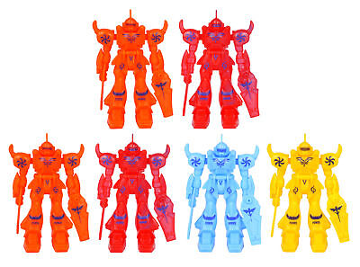 6 Robot Transformer Figures - Pinata Toy Loot/Party Bag Fillers Wedding/Kids (Transformer Pinata)