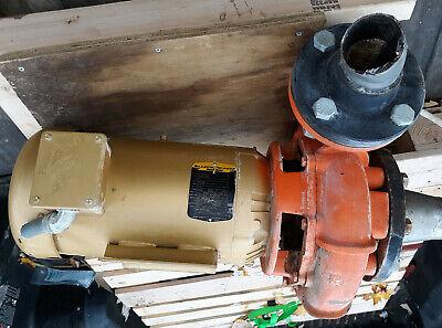 20vv23 Baldor Reliance Super E Motor Berkeley Pump 5hp 184jm Frame 3 Phase