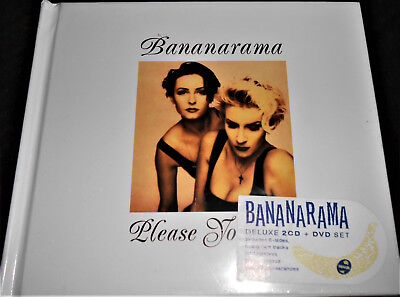 BANANARAMA Please Yourself  2 CD & DVD  Stock Waterman Conceived as ABBA BANANA