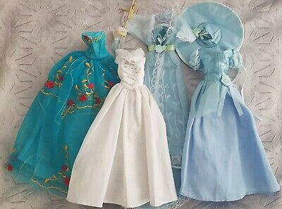BARBIE DISNEY DOLL Bundle of Clothes Dresses princess discover the world