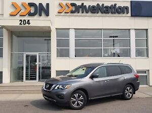 2017 Nissan Pathfinder SV SV 4x4 3.5L 3RD ROW HEATED SEATS BL...