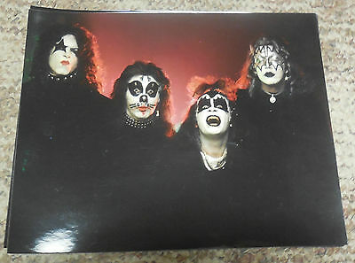 "KISS FIRST ALBUM COVER PHOTO OUTTAKE FULL COLOR 8"" X 10"""