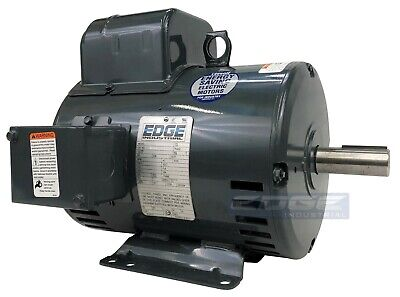 5 Hp Leeson Compressor Duty Electric Motor Replaces 131537 Baldor L1430t L1410t