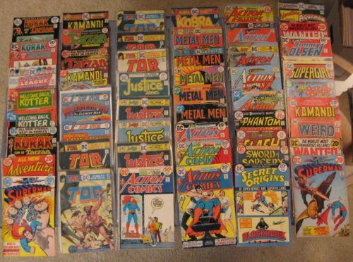 Wow! BIG Lot of *113* Early/Mid 70s (Bronze) DC COMICS! Superman/Batman/Oddball+